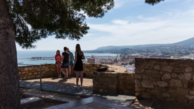 Time-lapse of the view from Castell de Dénia