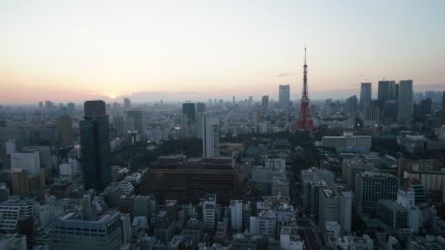 Timelapse av Tokyo Tower