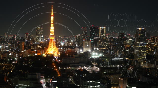 Timelapse of Tokyo Tower