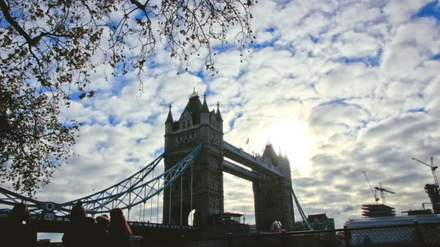 Timelapse of Tower Bridge