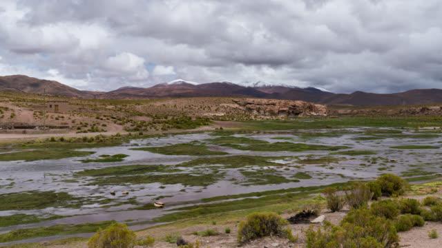 Timelapse of Uyuni desert