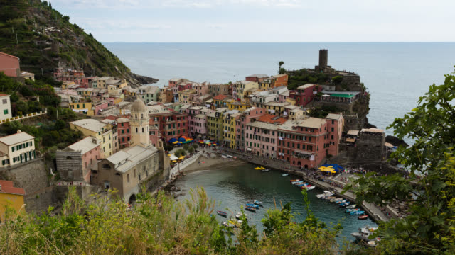 5 TERRE - TL: TimeLapse of Vernazza in Liguria, 5 Terre