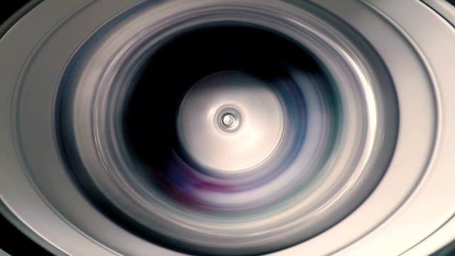 vídeos de stock e filmes b-roll de timelapse of washing machine while washing clothes and spin for industry laundry service - part of