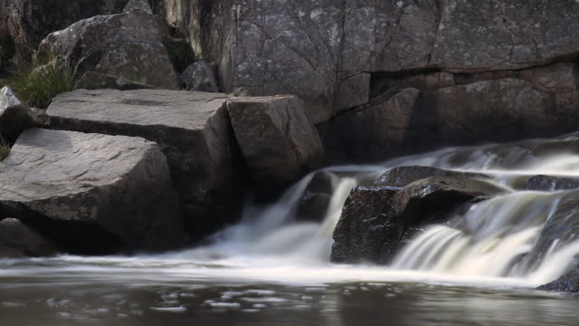 Timelapse of waterfalls at Crows Nest, Queensland, Australia