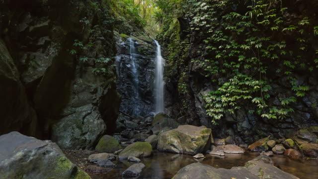 Timelapse of waterfalls at Lamington National Park, Queensland, Australia in 4K