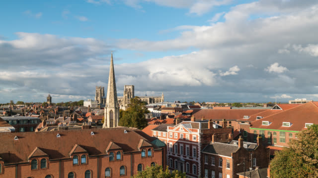 YORK: TimeLapse of York skyline