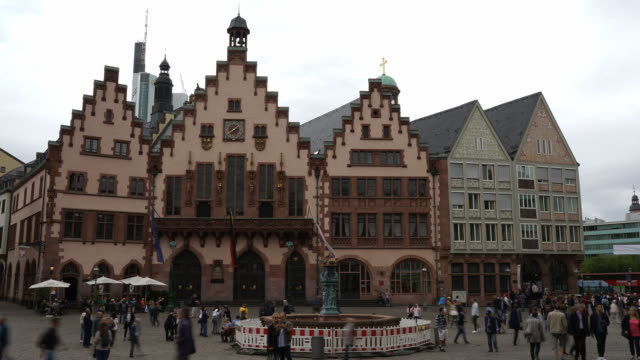 timelapse Old Town at Fussen City in Germany