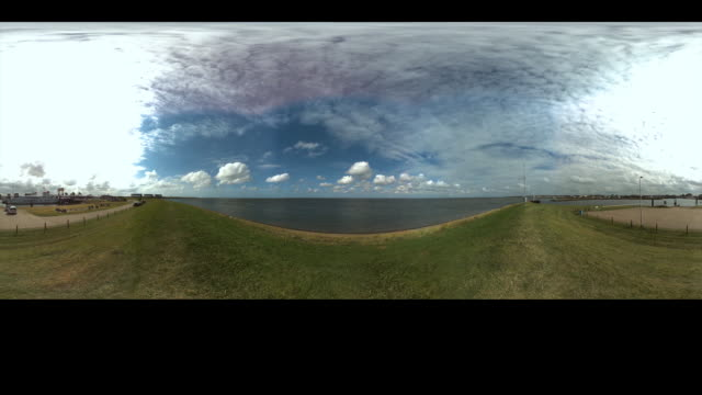 Timelapse on a Dutch dike