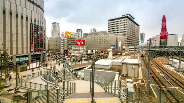HD Timelapse: Osaka Central Station Umeda