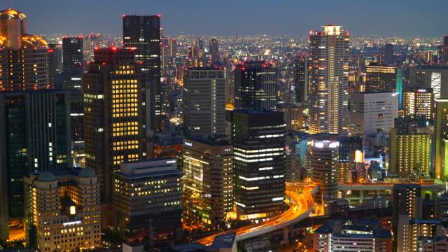 Timelapse Osaka City