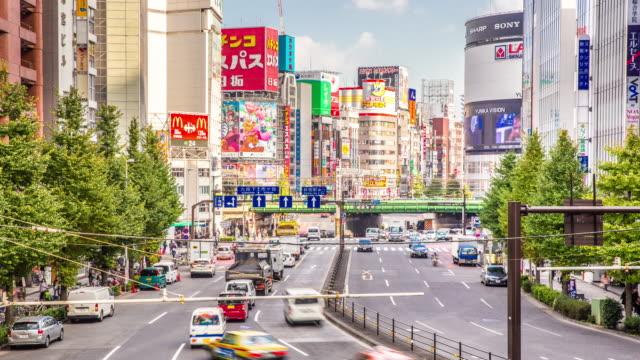 4 K Time -lapse (低速度撮影):新宿混雑した東京での歩行者