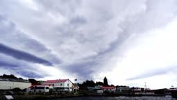 time-lapse :Port Stanley Falkland Islands