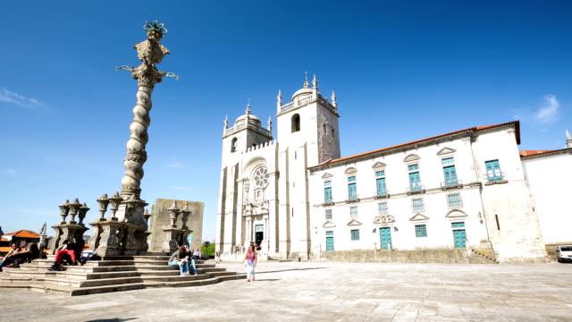 HD Time-lapse: Porto Catredral Portugal