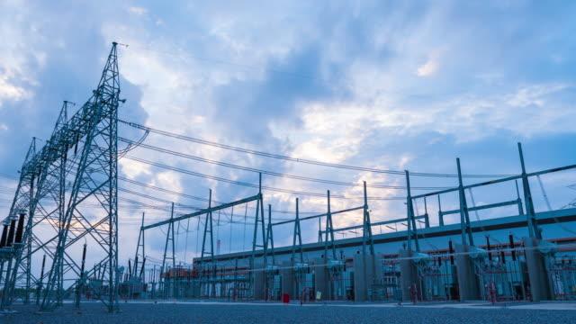 4K Timelapse: Power station