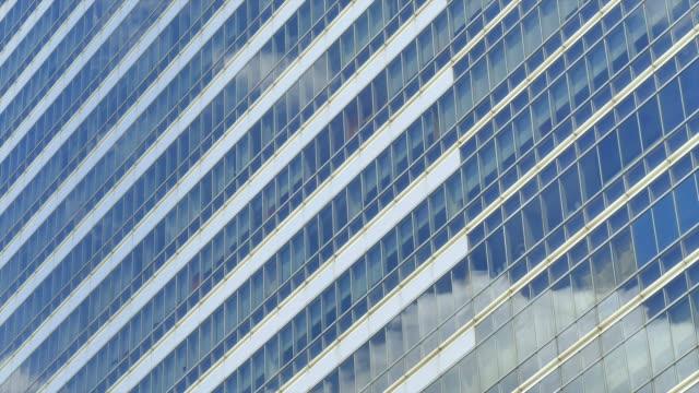 HD Timelapse reflect glass window