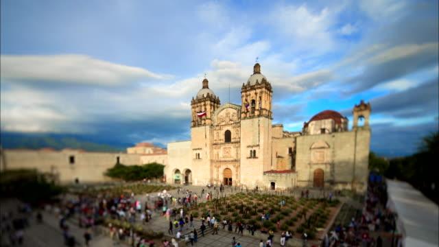 time-lapse santo domingo de guzman church - サントドミンゴ点の映像素材/bロール