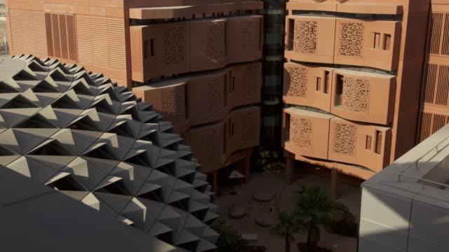 Timelapse shadows shift across buildings, Masdar, Abu Dhabi