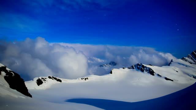 Time-Lapse shot of European Alps