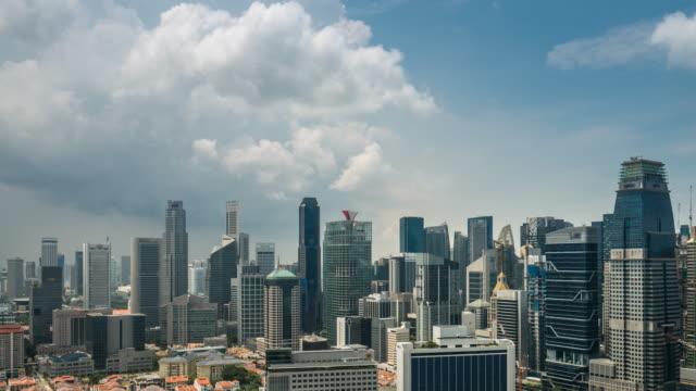 4K Time-lapse: Singapore City Scenery