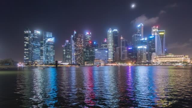 4K Timelapse : Singapore city