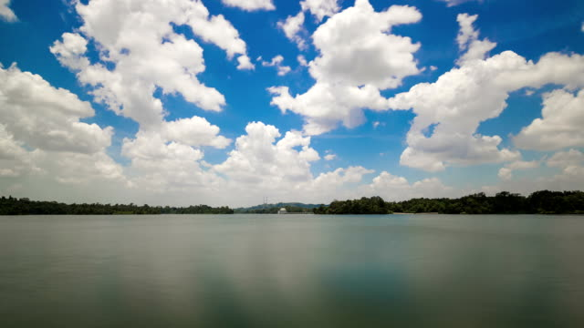 Time-lapse Singapore Upper Pierce Reservoir