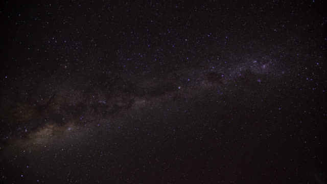 """""""timelapse stars and milky way track through night sky, south africa"""" - star space stock videos & royalty-free footage"""