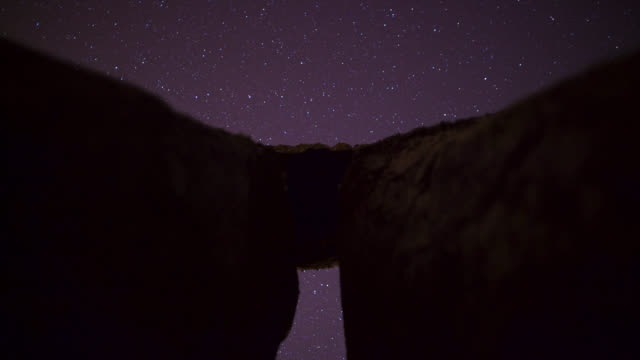 timelapse stars track over prehistoric stonehenge monument, wiltshire, uk - obelisk stock videos & royalty-free footage