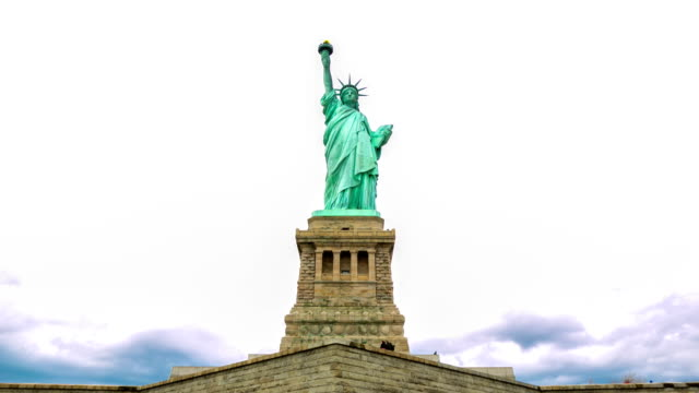HD Time-lapse: The Statue of Liberty in New York City