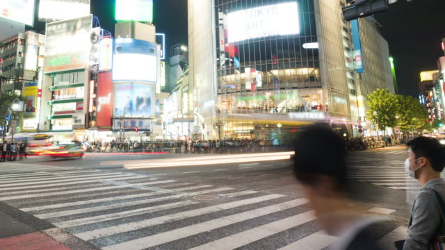 HD Time-lapse: Tokyo Shibuya Crossing, Japan