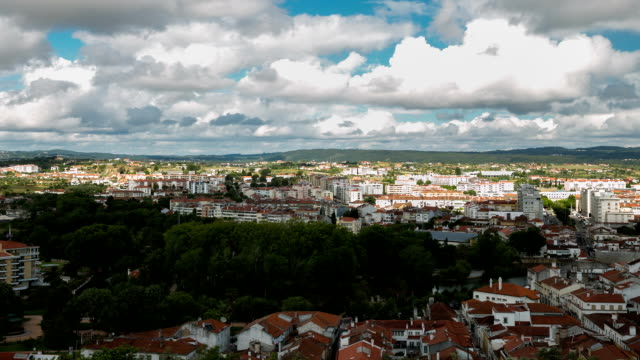 HD Time-lapse: Tomar Vista aérea de Portugal