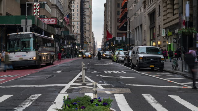 time-lapse: tourist pedestrian crowded at broadway around charging bull statue new york usa - pedestrian stock videos & royalty-free footage
