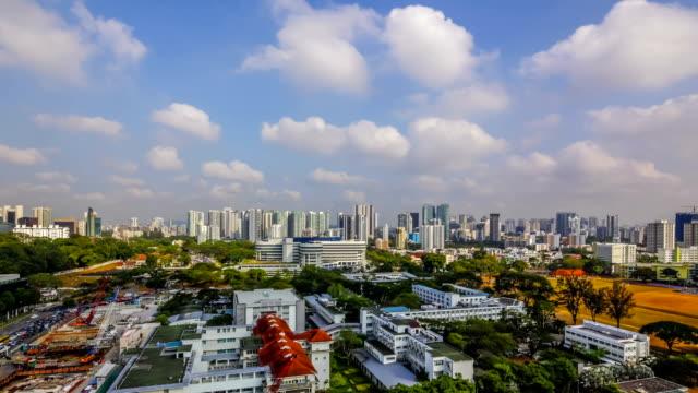 Vídeo Timelapse de la ciudad de singapur