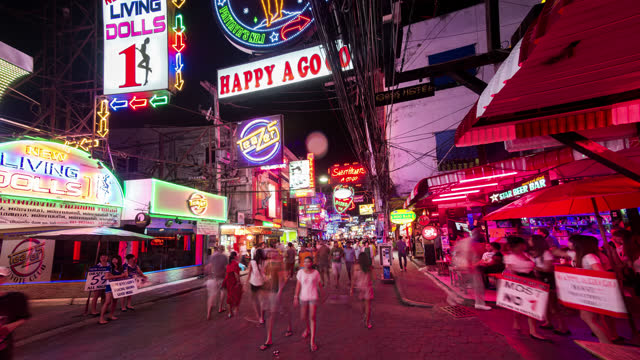 timelapse view of pattaya - 2013 stock videos & royalty-free footage