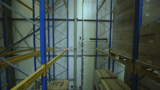Timelapse View of warehouse