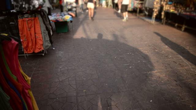 HD 微速度:遊歩道、タイ、カオサンロード