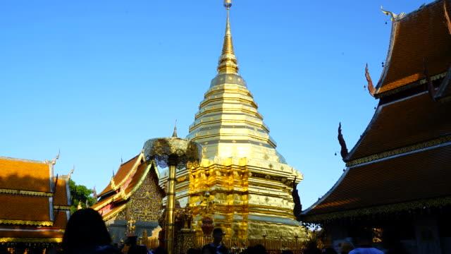 HD timelapse Wat Phra That Doi Suthep in Chiang Mai, Thailand