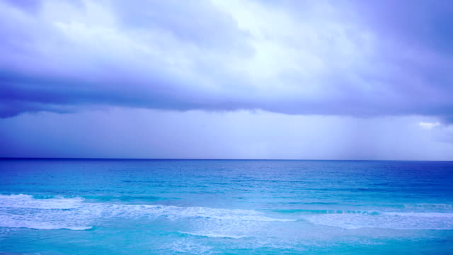 time-lapse:brilliant ocean beach sunrise. dramatic sky. sunrise shot.mexico - mayan stock videos & royalty-free footage