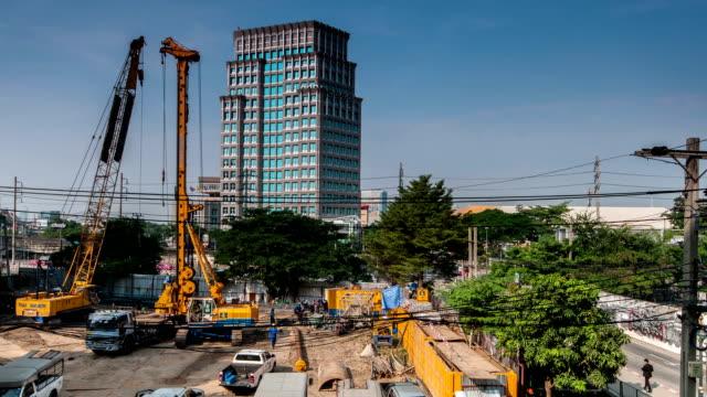 HD Timelapse:Construction site