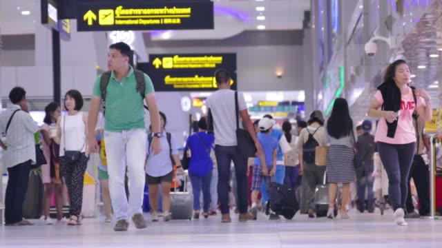 Timelapse:Crowd Flughafen
