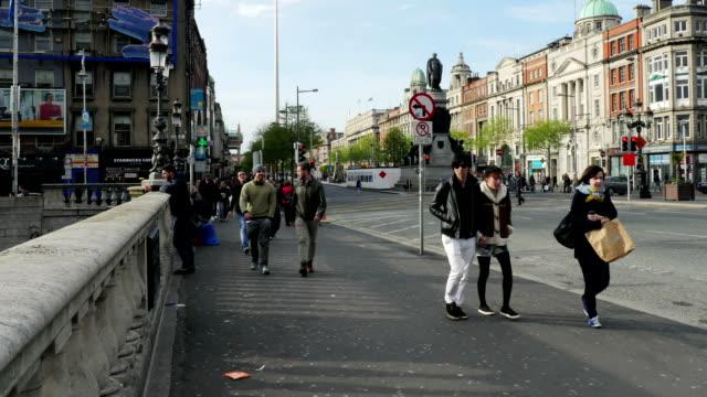 Timelapse:Dublin O'Connel Bridge