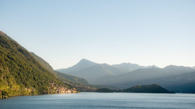 Zeitraffer:Italien, Comer Seelandschaft