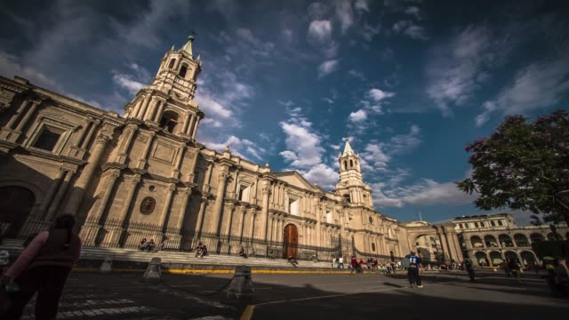 timelapses, arequipa peru - latin america stock videos & royalty-free footage
