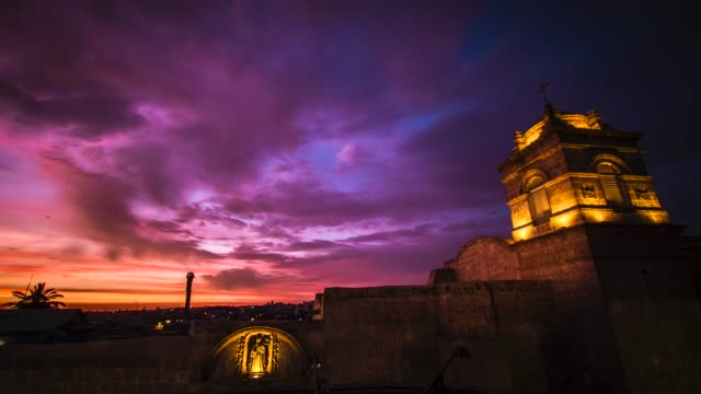 timelapses, arequipa peru - peruvian ethnicity stock videos & royalty-free footage