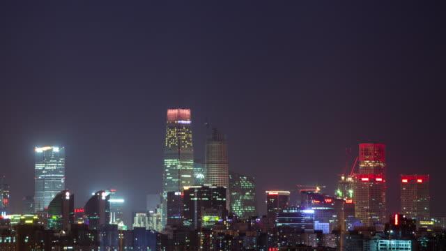 timelapse-skyline of Beijing