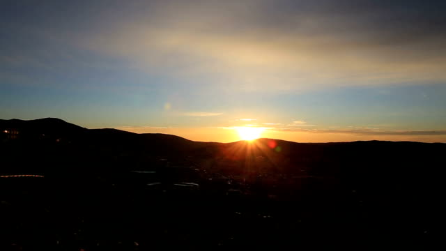 timelapse-sunrise over mount hermon - tour bus stock videos and b-roll footage