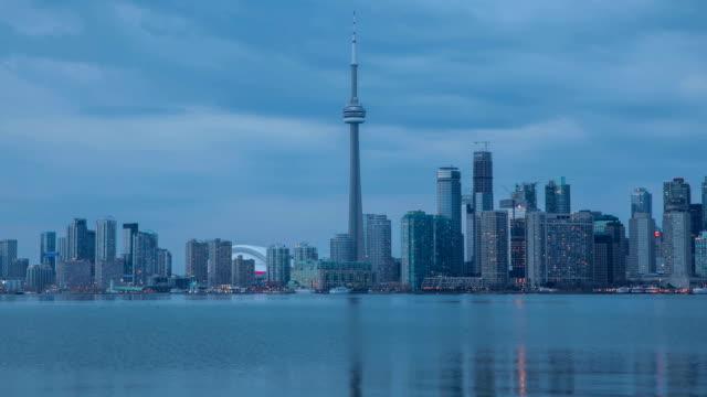 HD Time-lapse :  Vue sur la ville de Toronto, Canada