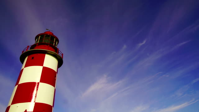 time-lapse:white lighthouse of canada ,ottawa - searchlight stock videos & royalty-free footage