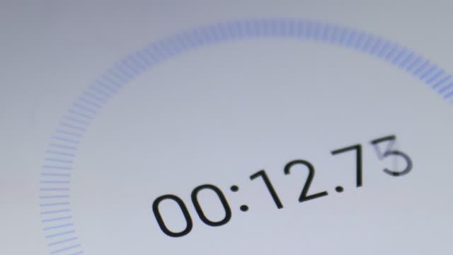 timer från 0 - tidur bildbanksvideor och videomaterial från bakom kulisserna