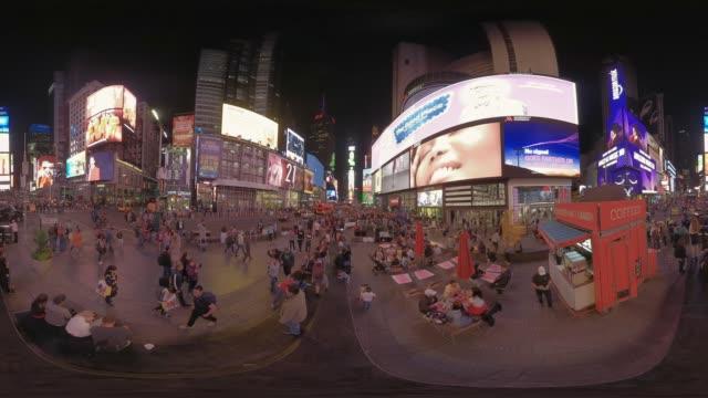 times square in manhattan new york usa - manhattan stock videos & royalty-free footage