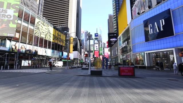 times square in new york usa on october 04 2013 times square in new york usa on march 16 2020 times square in new york usa on october 04 2013 times... - times square manhattan stock videos & royalty-free footage